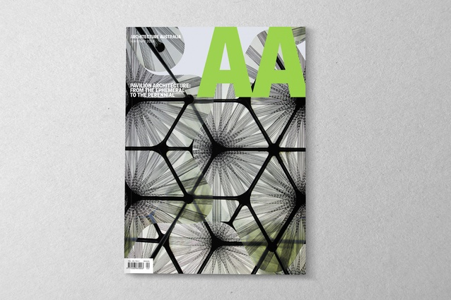 <i>Architecture Australia</i> March/April 2016.
