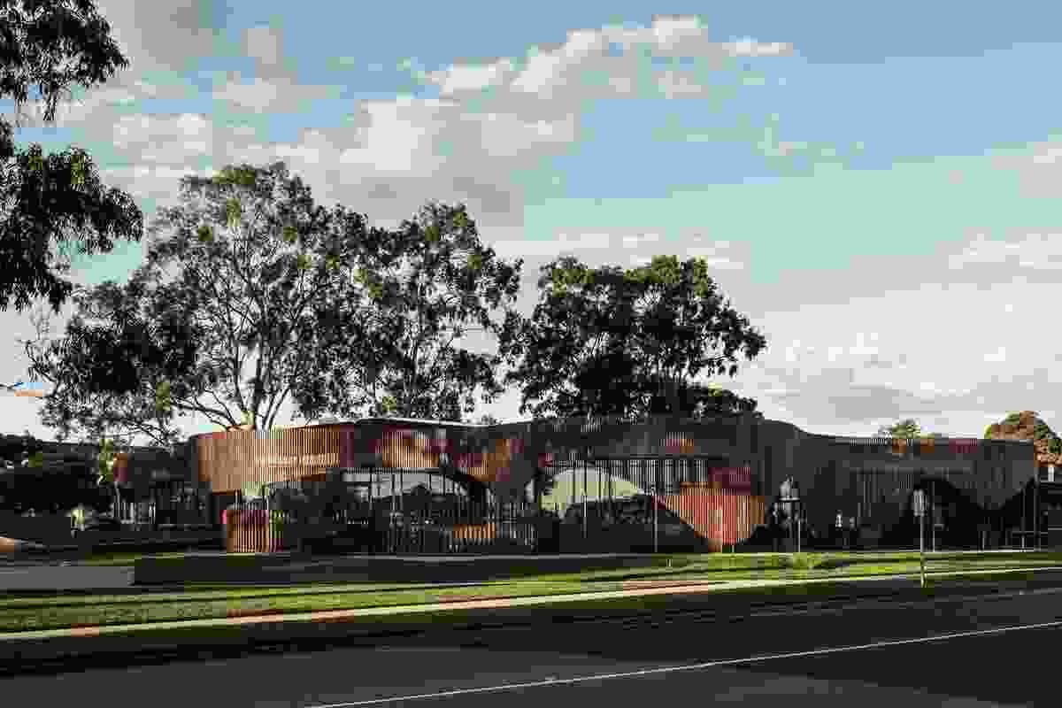 Cobram Library and Learning Centre by Cohen Leigh Architects.