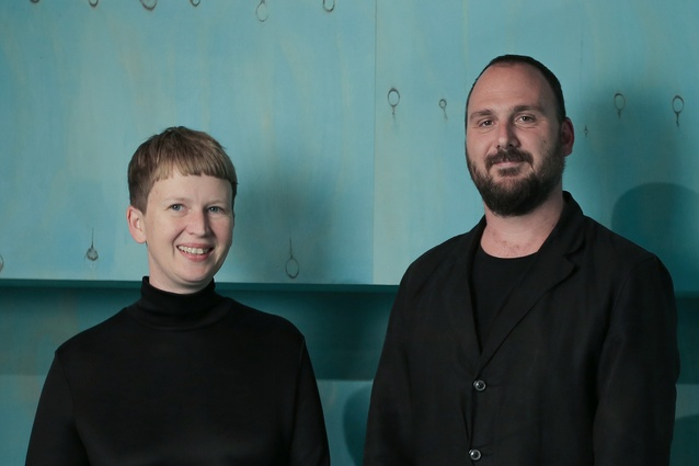 Anita Panov and Andrew Scott of Panov Scott Architects.