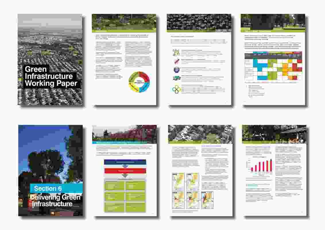 The Green Infrastructure Working Paper – a detailed and comprehensive, yet accessible, document.
