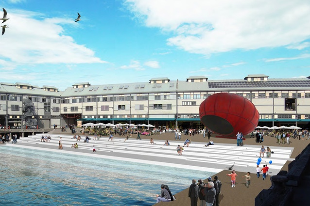 The proposed redevelopment of Walsh Bay Arts Precinct.