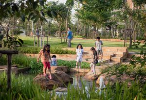 Chulalongkorn University Centenary Park in Bangkok by Landprocess.