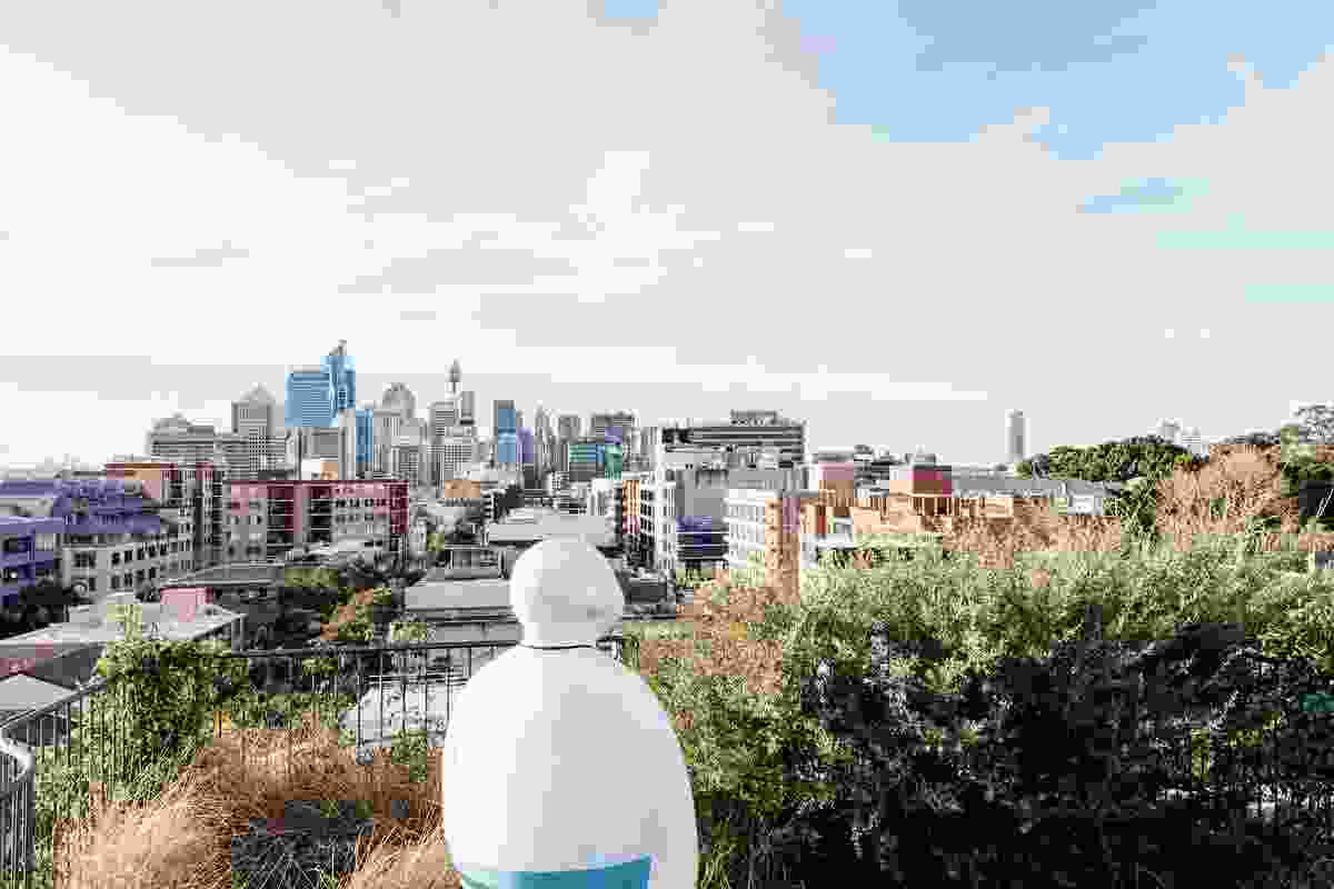 Cleveland Rooftop by SJB.