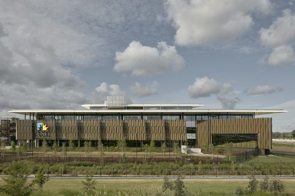 University of the Sunshine Coast Moreton Bay campus foundation building, designed by Hassell.