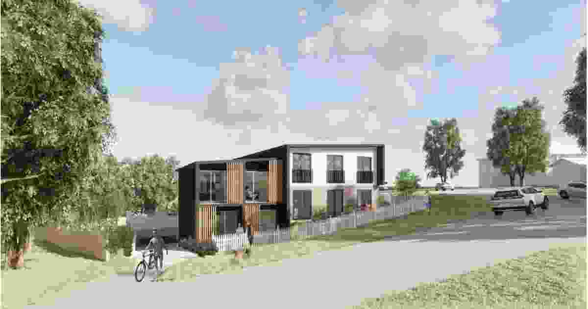 The proposed boarding house on Binalong Road, Allambie Heights.