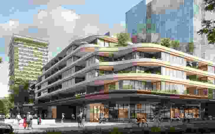 Building B by Koichi Takada Architects.