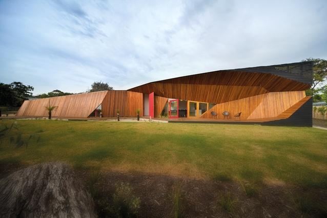 Rob Mcbride And Debbie Ryan Of Mcbride Charles Ryan Architectureau - Klein-bottle-house-by-mcbride-charles-ryan