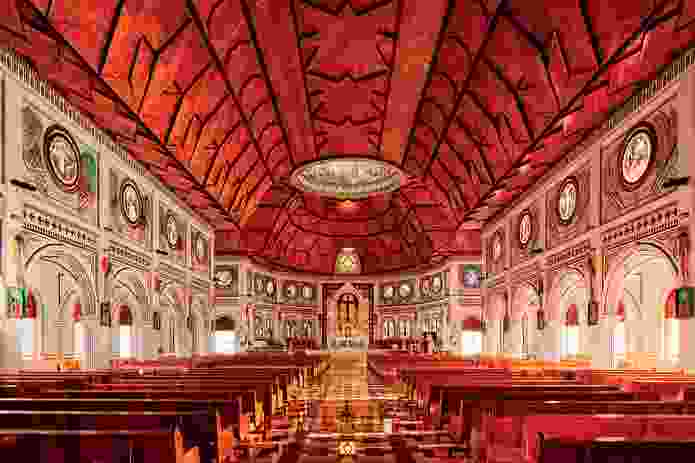 Immaculate Conception of Mary Cathedral in Apia, Samoa.