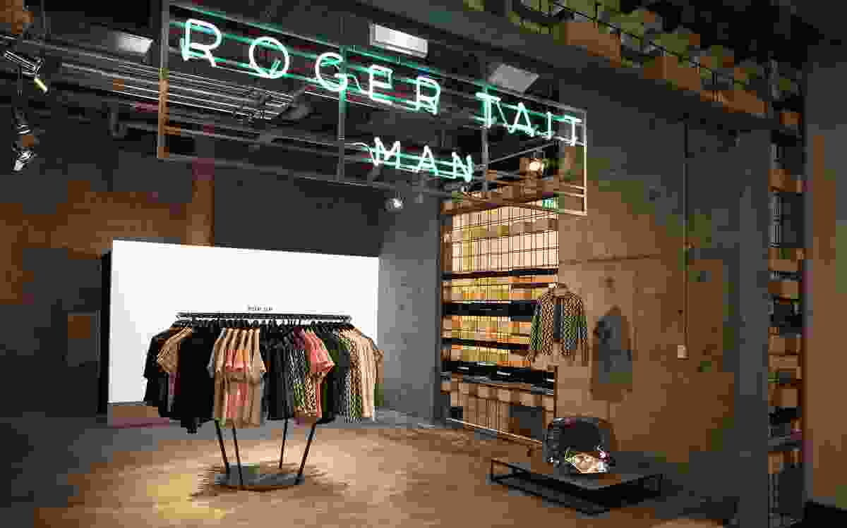 Roger Tait Man by Loopcreative.