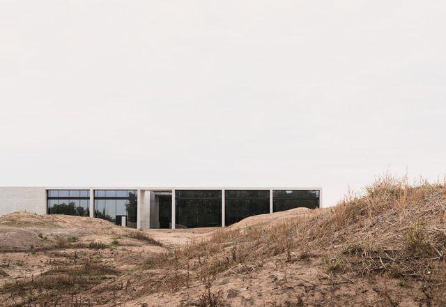 Crematorium Siesegem by KAAN Architecten.