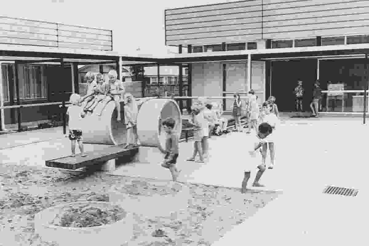 Enduring Architecture category finalist: Deanwell School (1968), Hamilton by the South Auckland Education Board – Architectural Division.
