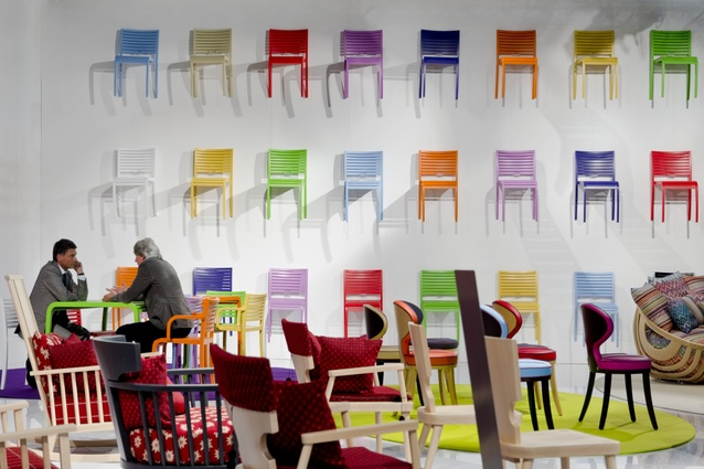 The 2012 Milan Furniture Fair.