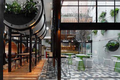Prahran Hotel by Techne Architecture + Interior Design.