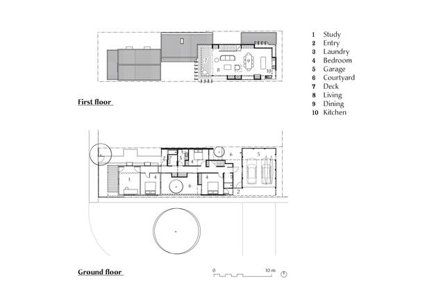 Plans of Parmelia Street by Philip Stejskal Architecture.