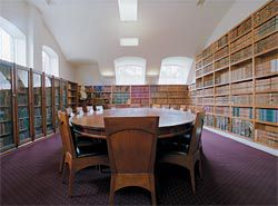 The law library.