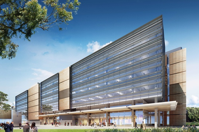 The proposed design of the Charles Perkins Centre at the University of Sydney.