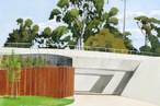 Canberra's roads, power poles and underpasses captured in paint