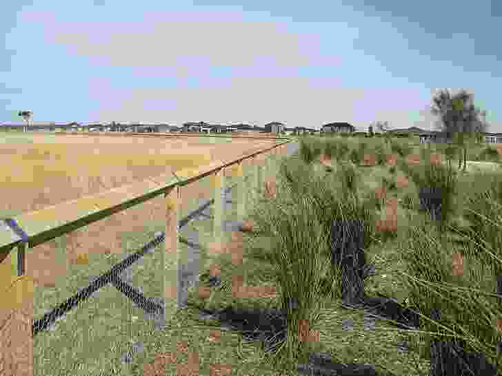 Fifty hectares, or 20 percent, of the estate was reserved for endangered grasslands prior to redevelopment.