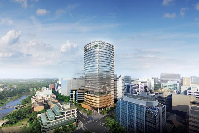 Most Translucent Building In Parramatta Wins Tower