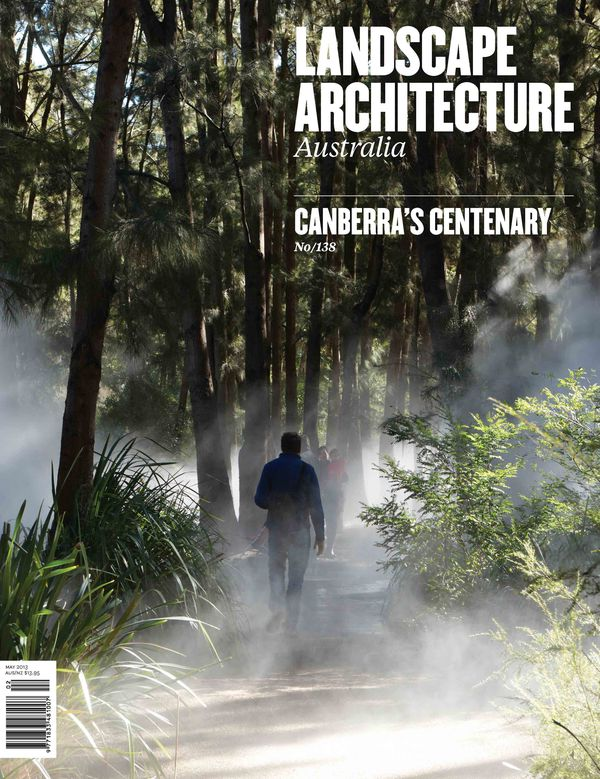 Landscape Architecture Australia, May 2013