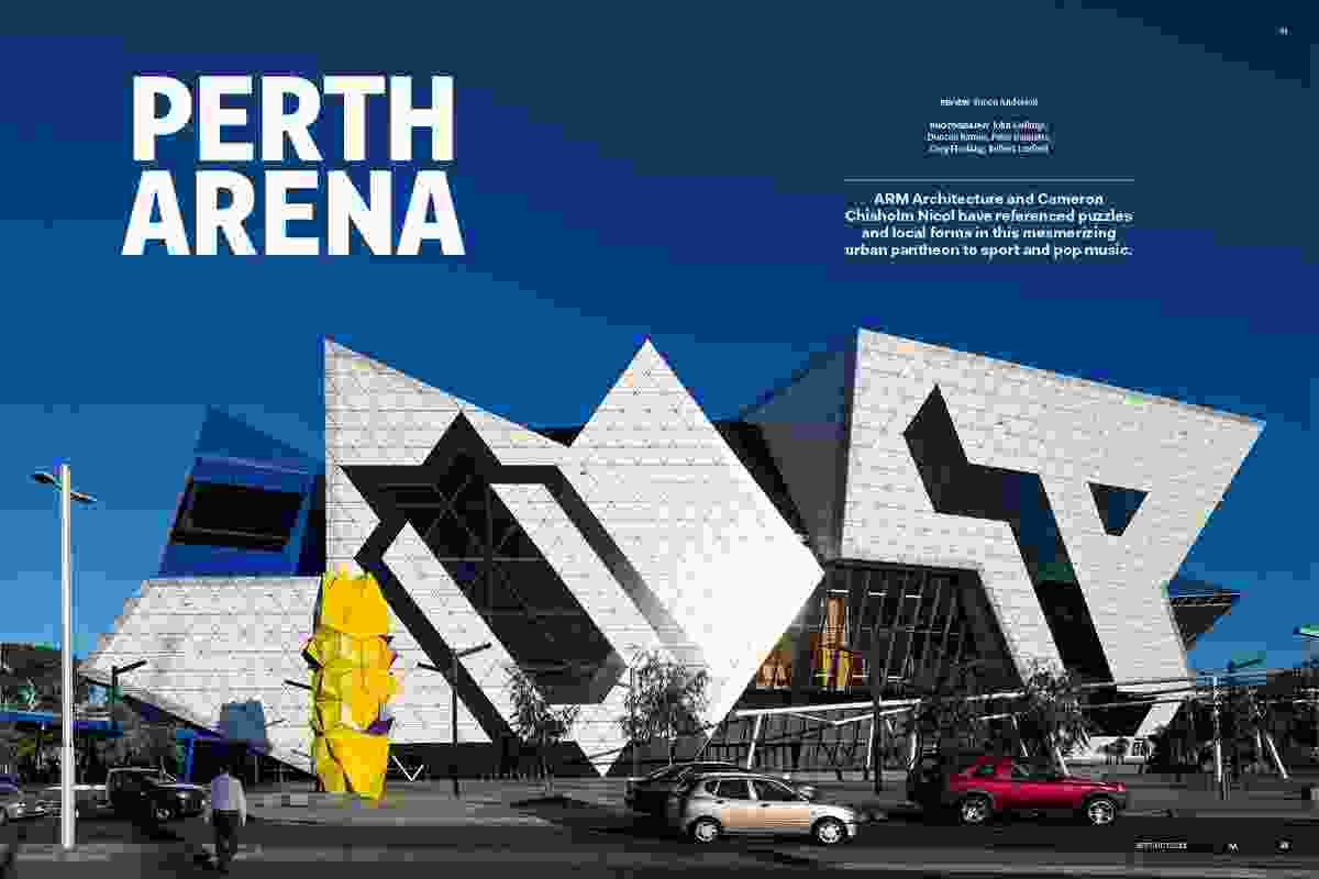 Perth Arena by ARM Architecture and Cameron Chisholm Nicol.