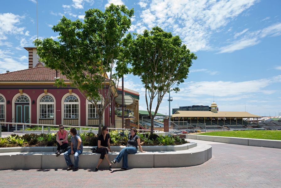 Brisbane Showgrounds - Public Realm Overlay by Lat27 in collaboration with RNA and Lendlease.