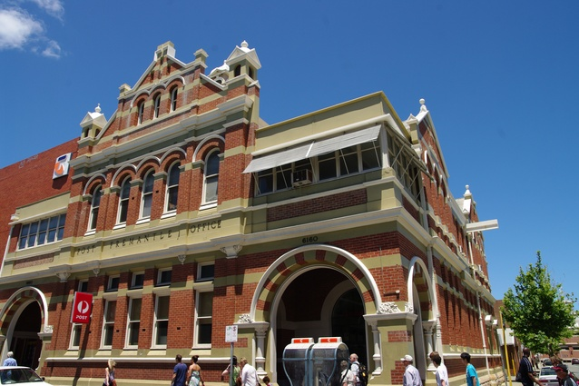 Fremantle Post Office designed by Hillson Beasley, 1907.