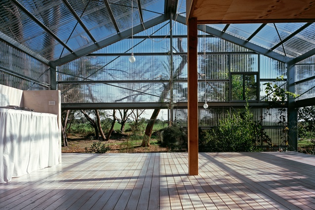 Garden House is a reflection of Baracco and Wright Architects' interest in the way that infrastructure can be more mindful of its environment, ecosystem and local landscape.