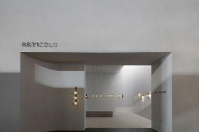 Articolo stand designed by Studio Goss.
