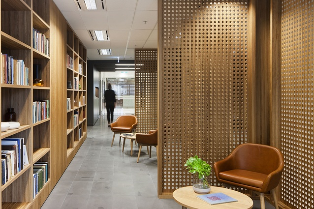 Institutes at Spring Street, Australian Catholic University by Bower Architecture and Interiors.
