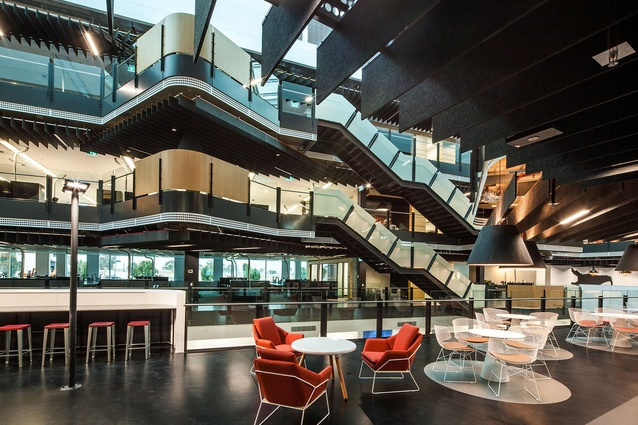 ACT Government Fitout, Winyu House, Gungahlin by peckvonhartel