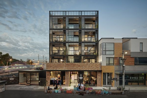 Nightingale 1 by Breathe Architecture is among a number of projects without car parking that have been supported by Moreland council in the past.