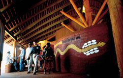 Uluru – Kata Tjuta Cultural Centre entrance