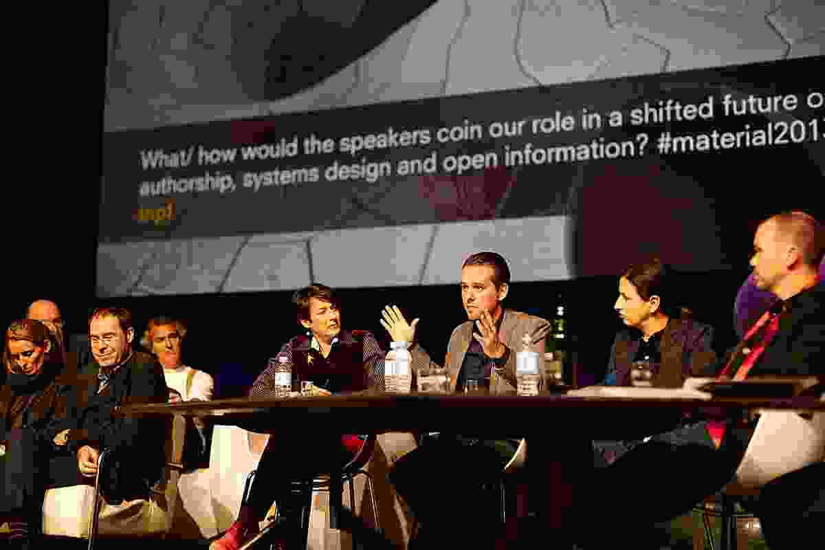 2013 National Architecture Conference speakers in the final discussion.