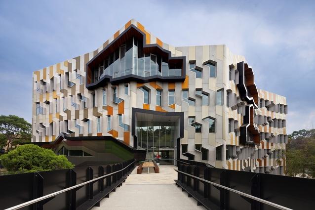 Sylvia Walton Building by Lyons.