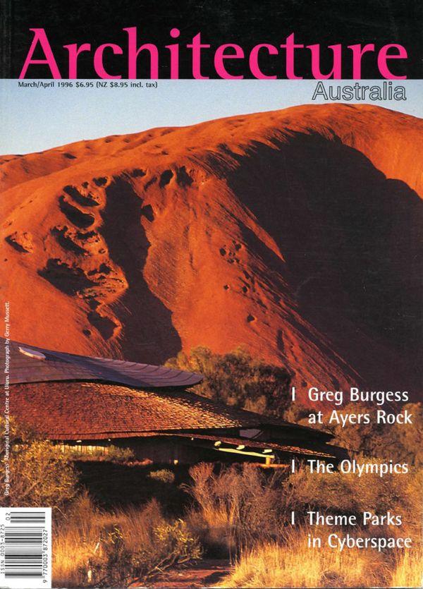 Architecture Australia, March 1996