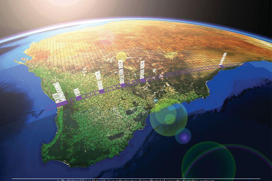 Green Infrastructure: Planning a National Green Network for Australia by Simon Kilbane.