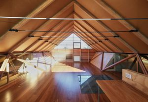Durra Panels were used to create this house in Point Lonsdale.