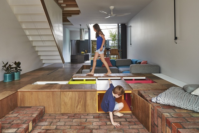Mills, The Toy Management House by Austin Maynard Architects.