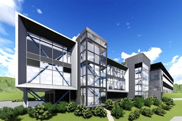 Digital Reality Data Centre Osaka by Greenbox Architecture.