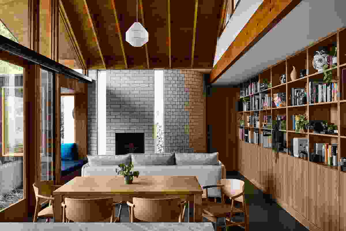 Rather than assign each room a single function, spaces are imagined to support socializing or solitude.