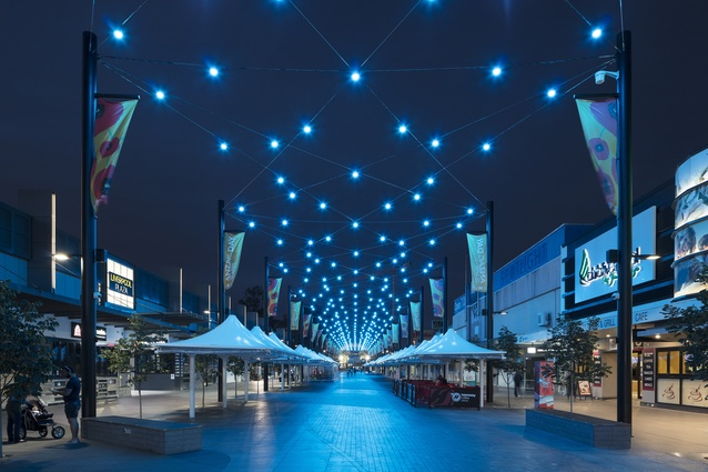 Macquarie Street Mall Revitalisation by Urbis.