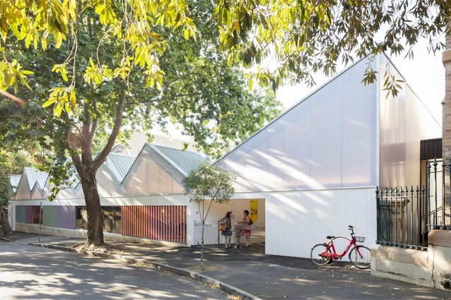 UTS Blackfriars Children's Centre by DJRD with L and S Architects.