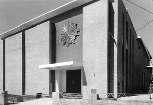 Significant expansion and remodelling work of the Kurt Popper-designed Elwood Talmud Torah occurred in 1972–73.