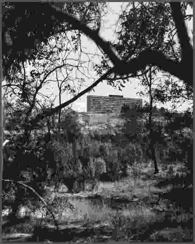 The Monash University Clayton Campus circa 1967.