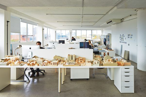 The Tribe Studio office. While it began as a practice of one, Tribe Studio now employs seven people.