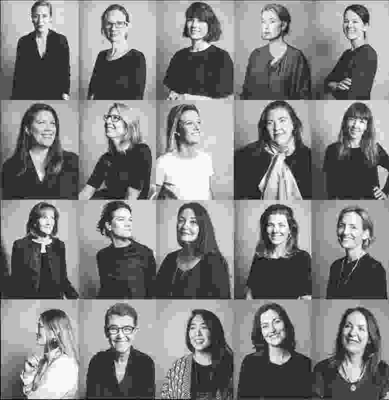 The architects featured in Chasing the Sky: 20 Stories of Women in Architecture.
