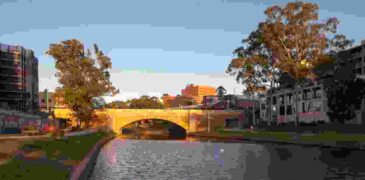 Lennox Bridge Portals (NSW) by Hill Thalis Architecture and Urban Projects.