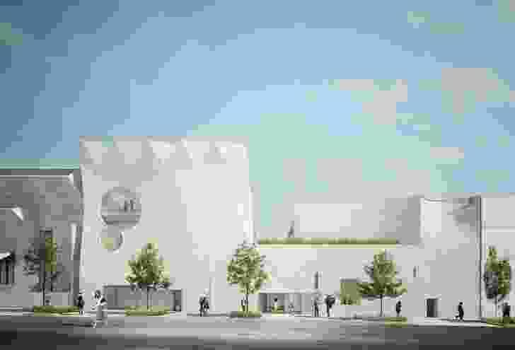 Phoenix Gallery Durbach Block Jaggers and John Wardle Architects.