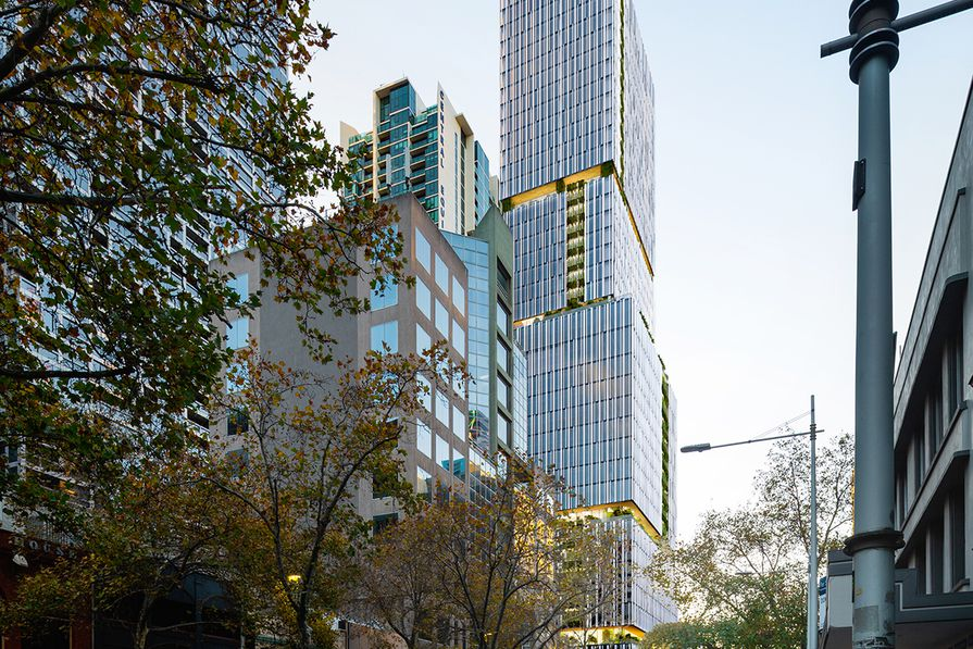 600 Lonsdale Street by Skidmore Owings and Merrill (SOM) and Fender Katsalidis.